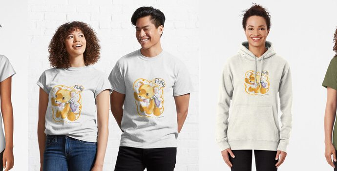'Draw for Wild' Cats Kleding 01